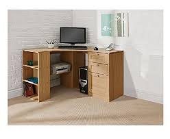 Corner Desk Computer Workstation Oak Corner Desk Fraser Wood Computer Workstation Proffesional Home