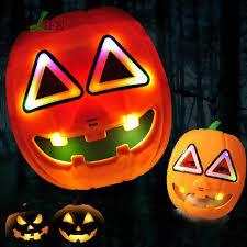 pumpkin mask children props with light emitting voice pumpkin