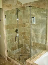 bathroom contemporary bathroom design with frameless shower door