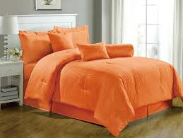 Orange Bed Sets Orange Comforter Sets Orange Comforter Set The Best Brown