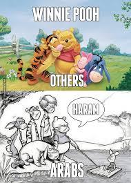 Pooh Meme - how arabs see piglet from winnie the pooh image dubai memes