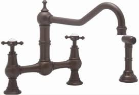 rohl u 4764l u4763x perrin u0026 rowe bridge kitchen faucet with