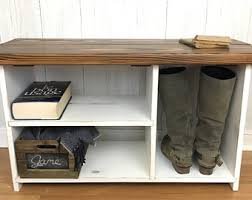 Entry Benches With Shoe Storage Entryway Bench Etsy