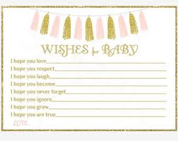 wishes for baby cards wishes for baby girl baby shower blush pink gold glitter
