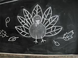 thanksgiving chalkboard the lilypad cottage