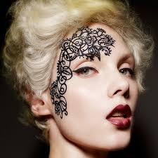 lace eye shadow sticker makeup artistic eye mask