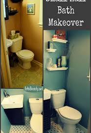 Finished Bathroom Ideas Finished Tiny Half Bathroom Powder Room Remodel Hometalk