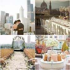 city wedding decorations rooftop wedding decorations crowdbuild for