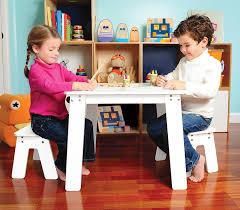amazon com p u0027kolino chalk table and benches toys u0026 games
