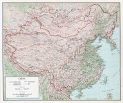 China Map Cities by Large Detailed Relief Administrative And Political Map Of China