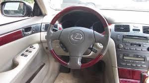 2005 lexus es330 sedan 2004 lexus es330 black stock 121402a interior youtube