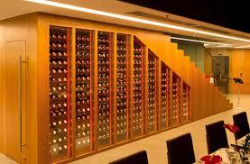 R Wine Cellar - commercial wine cellar undercounter glass wooden