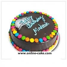 order a cake online order online cake in delhi chocolate gems cake order fresh