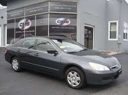 2007 used honda accord sedan 4dr i4 mt lx at central motor sales