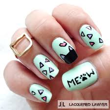 lacquered lawyer nail art blog the cat u0027s meow