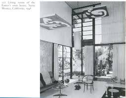 eames house 1948 archival photo pinned by a taste setter www