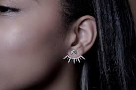 sharp earrings about the foyer collection
