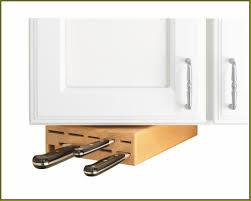 Knife Storage Ideas by Under Cabinet Knife Storage Drawer Home Design Ideas