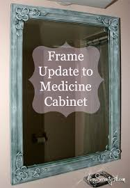 How To Make Old Wood Cabinets Look New How To Update A Medicine Cabinet Without Replacing It Tired Of