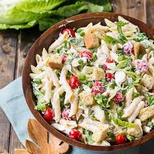 salad pasta chicken caesar pasta salad spicy southern kitchen