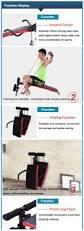 fitness decline sit up bench crunch board abdomen equipment for