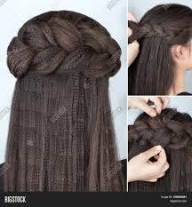 process weaving braid hairstyle image u0026 photo bigstock