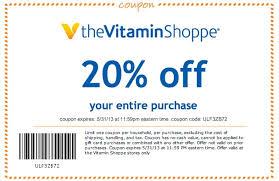 vitamin shoppe coupons vitamin shoppe 20 off printable coupon