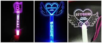 idols and their official unofficial lightsticks korea world