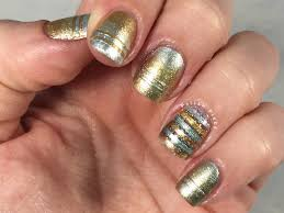 nail designs gold and silver beautify themselves with sweet nails