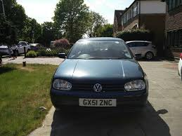 vw golf mk 4 2001 1 6 s 16v dark green manual petrol 1 owner