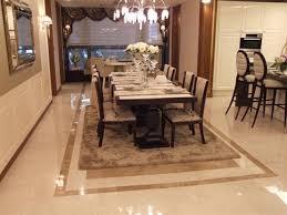 Dining Room Tile Floor Ideas Decoraci On Interior - Dining room tile