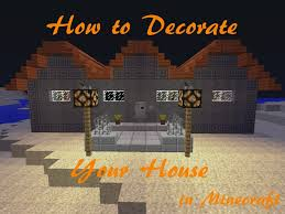 Decorating Your House For Halloween by How To Decorate Your Minecraft House For Halloween Youtube