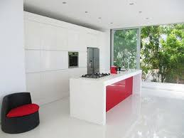 Red Kitchens With White Cabinets 25 Stunning Red Kitchen Design And Decorating Ideas