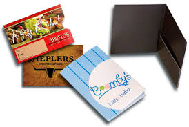 custom gift card holders custom printed plastic gift card holders