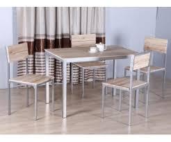 table et chaises de cuisine pas cher ensemble repas table chaise table chaises moderne table et