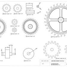 7 Free Wooden Gear Clock Plans by Gear Generator Pearltrees