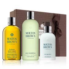 molton brown bushukan shower gel shampoo moisturiser gift set molton brown eu bushukan daily grooming gift set