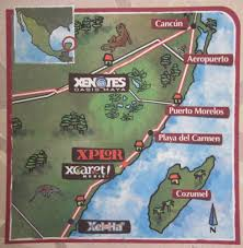 Cozumel Map Playa Del Carmen Cancun Cozumel Vacation Review Attractions Maps