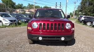 jeep patriot 2017 red new or special vehicles for sale in chicago il south chicago