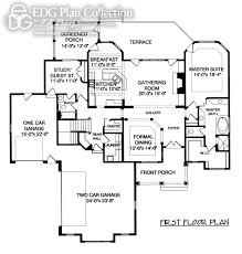 Floor Plans With Inlaw Suite by 5 Beds Edg Plan Collection