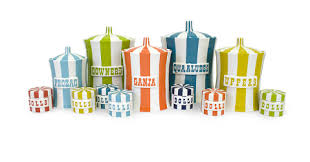 funky kitchen canisters jonathan adler canisters i have the prozac one in turquoise but i