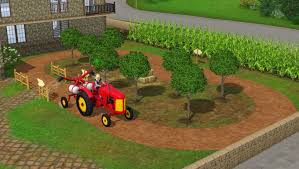 a very big farmhouse with old mill set u2014 the sims forums