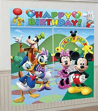 mickey mouse clubhouse party mickey mouse clubhouse decorations ebay