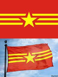 Viet Nam Flag Combined Flag Of Vietnam Vexillology