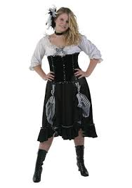Western Halloween Costumes Womens Saloon Costume Western Size Costumes
