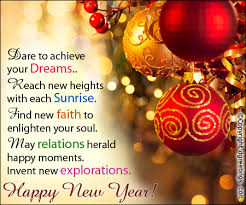 new years cards new years greetings card to achieve your dreams new year cards