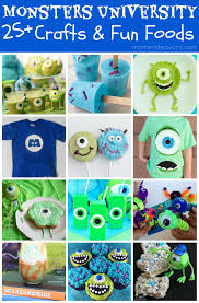 25 Monstrously Creative Monsters University Crafts & Fun Food Ideas