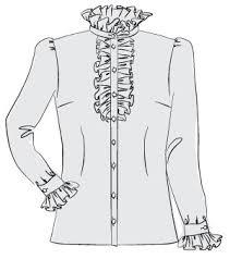 shirt pattern cutting pdf semi fitted shirt pdf sewing pattern by angela kane