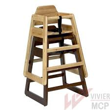 chaise pour chaise haute pour restaurant en bois chaise haute professionnelle