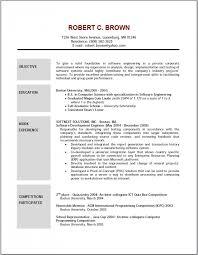 good resume objective lukex co